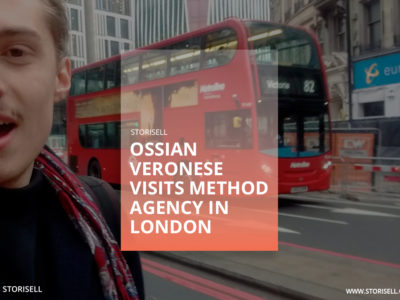 Ossian Veronese visits Method Agency in London