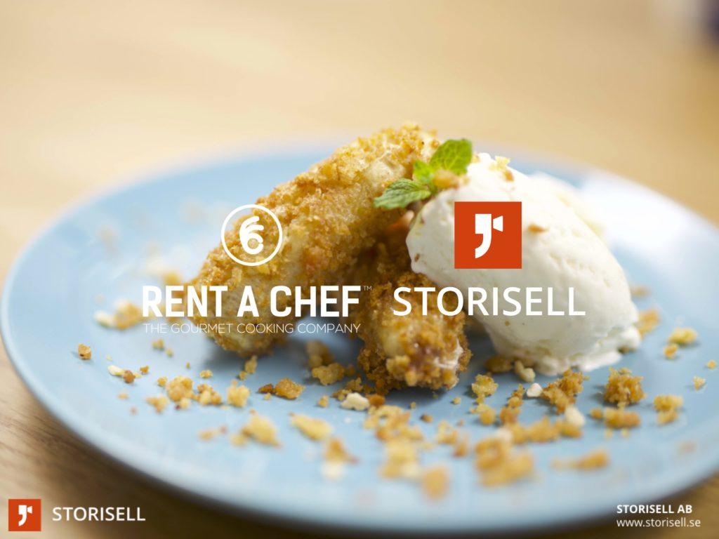 Matlagningsvideo Storisell Rent a Chef Samarbete