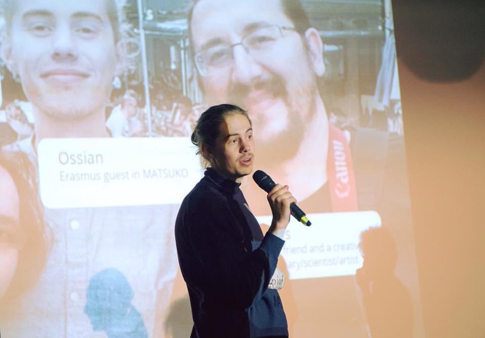 Ossian Veronese Entrepreneurial Newcomer at Näringslivsgalan