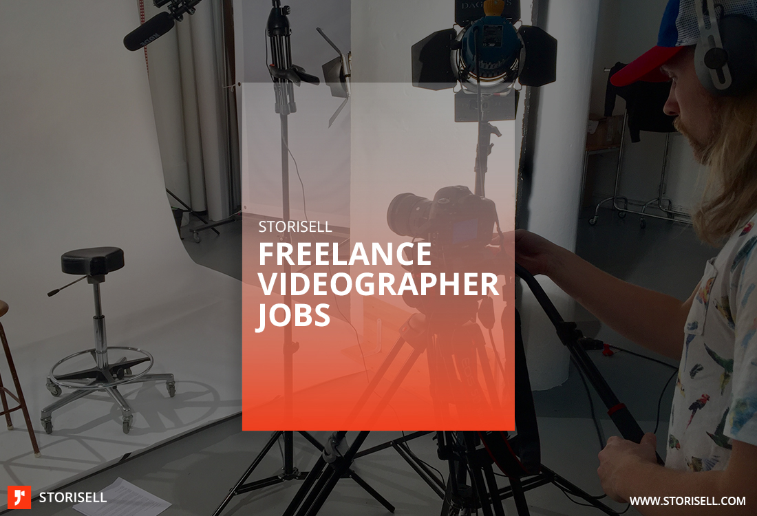Become a freelance videographer at Storisell