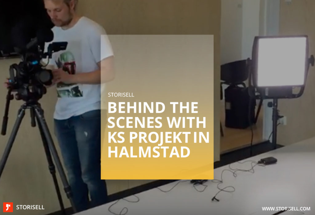 Storisell behind the scenes with KS Projekt Halmstad
