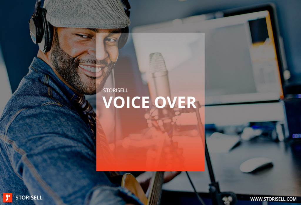 Voice Over Storisell. VOICEOVER TALENT. Have a great voice and work as a voiceover talent? Send your demo narrative to our production team. At Storisell we work with voiceover talents around the world from professional studios to basement gigs. We are always on the lookout for new talent.